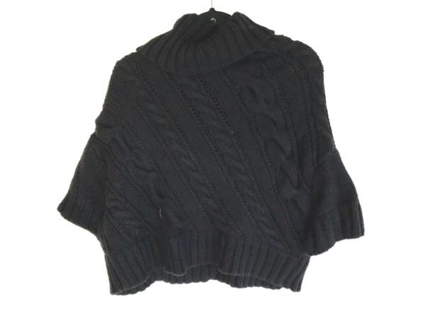 theory(セオリー) セーター サイズ2 S レディース 黒 タートルネック/ショート丈