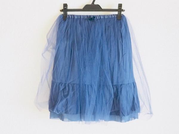 Bilitis(ビリティス) スカート サイズ36 S レディース ネイビー チュール