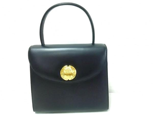 GIVENCHY(ジバンシー) ハンドバッグ美品  - 黒 レザー