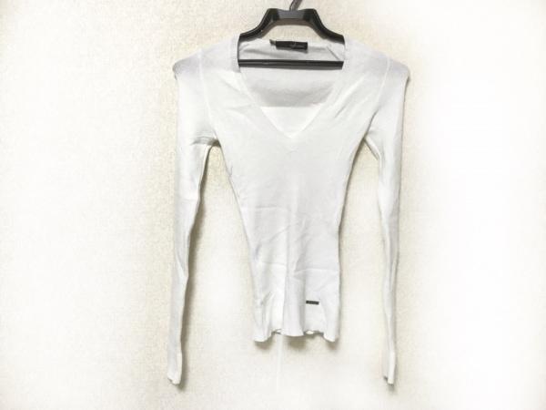 DSQUARED2(ディースクエアード) 長袖セーター サイズXS レディース 白