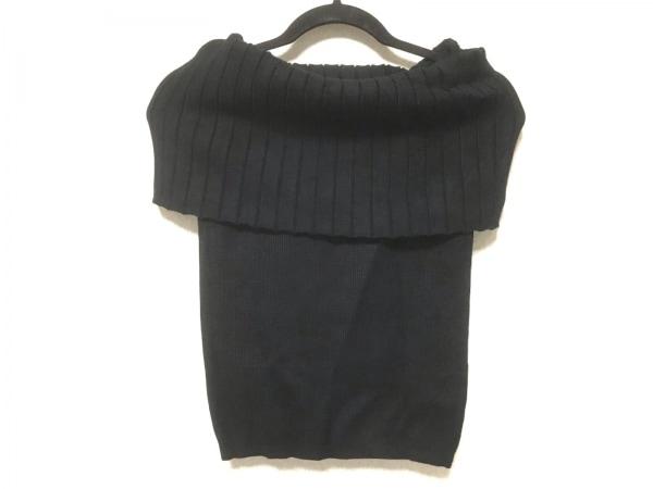 snidel(スナイデル) ノースリーブセーター サイズF レディース美品  黒