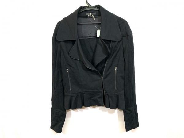 セブンフォーオールマンカインド ライダースジャケット サイズXS レディース 黒