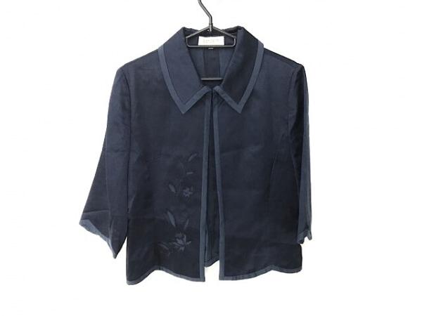 LANCETTI(ランチェッティ) スカートスーツ レディース ネイビー 刺繍/花柄