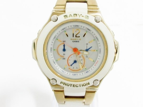 CASIO(カシオ) 腕時計美品  Baby-G BGA-1420 レディース シルバー
