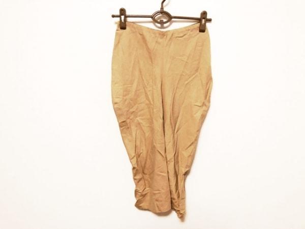 プレインピープル ロングスカート サイズ2 M レディース美品  ライトブラウン