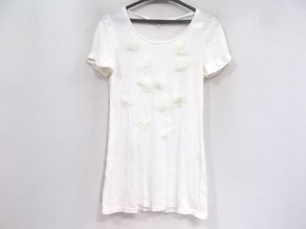 Chesty(チェスティ) 半袖Tシャツ サイズF レディース美品  白 フラワー/シースルー