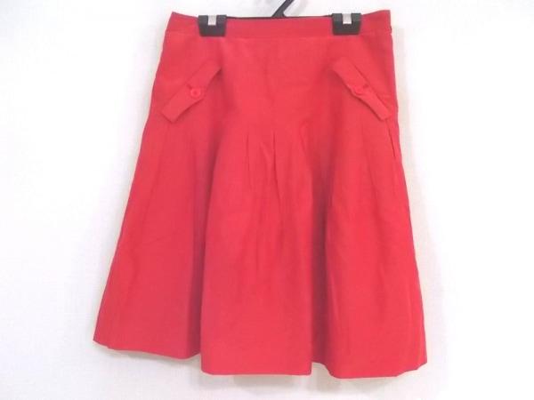 JUSGLITTY(ジャスグリッティー) スカート サイズ2 M レディース美品  レッド
