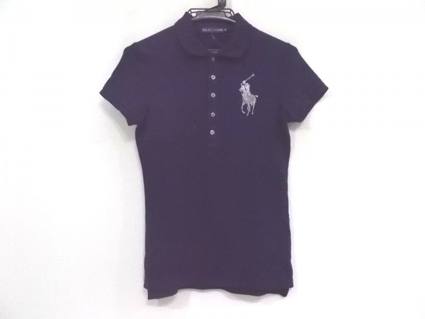 ラルフローレン 半袖ポロシャツ サイズM レディース新品同様  ビッグポニー