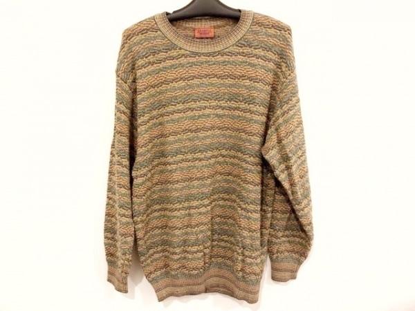 MISSONI(ミッソーニ) 長袖セーター サイズL メンズ美品 1