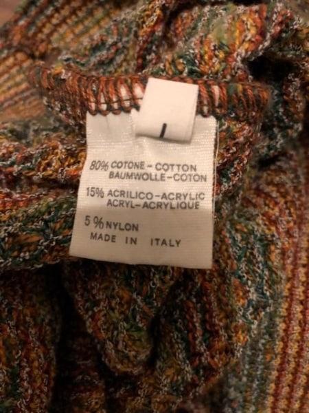 MISSONI(ミッソーニ) 長袖セーター サイズL メンズ美品 4