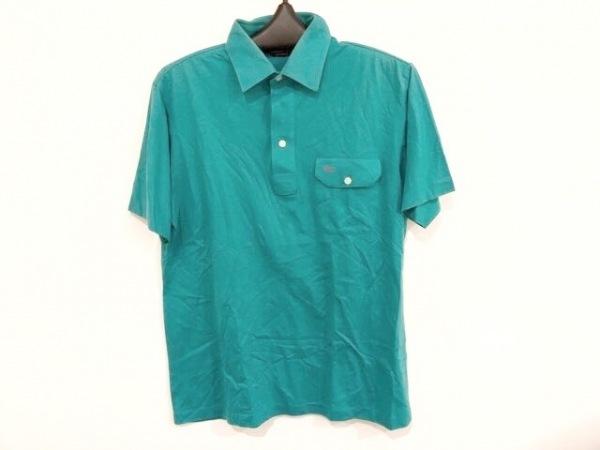 クリスチャンディオールムッシュ 半袖ポロシャツ サイズM メンズ グリーン