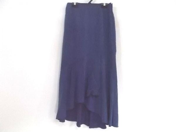 グレースコンチネンタル ロングスカート サイズ36 S レディース美品  ネイビー