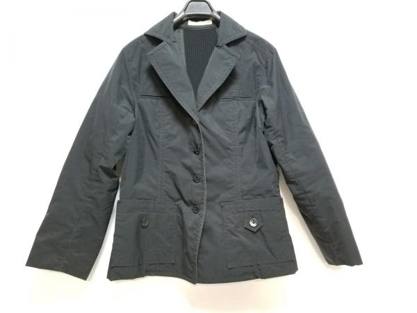 HIROKO KOSHINO(ヒロココシノ) ジャケット サイズ38 M レディース 黒