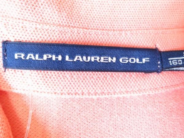 ラルフローレンゴルフ ワンピース サイズS レディース美品  オレンジ