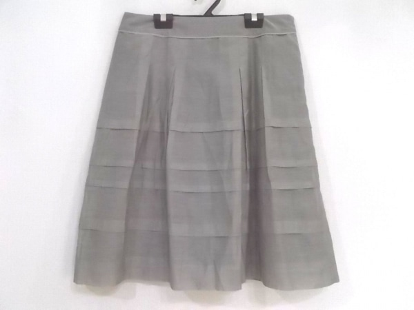 自由区/jiyuku(ジユウク) スカート サイズ44 L レディース美品  グレー