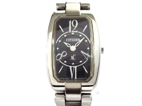 CITIZEN(シチズン) 腕時計美品  XC B023-T011098 レディース DURATECT 黒