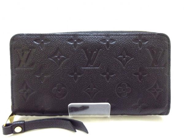 ルイヴィトン 長財布 モノグラム・アンプラント美品  ジッピー・ウォレット M61864
