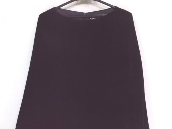 agnes b(アニエスベー) ワンピース サイズ36 S レディース新品同様  黒 ベロア