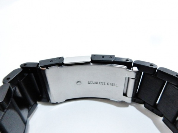 POLICE(ポリス) 腕時計美品  13789M メンズ トリプルカレンダー 黒×ゴールド