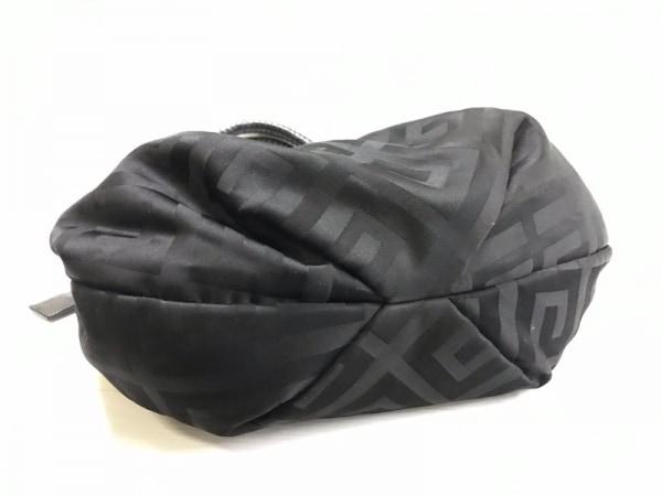 GIVENCHY(ジバンシー) トートバッグ - 黒 ナイロンジャガード×レザー