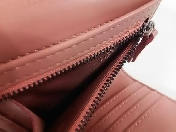 ステラマッカートニー 3つ折り財布美品  ピンク×シルバー 4