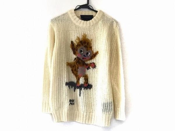 COACH(コーチ) 長袖セーター サイズXS レディース美品  アイボリー×マルチ
