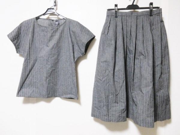 エマニュエルウンガロ スカートセットアップ サイズ9 M レディース 黒×白