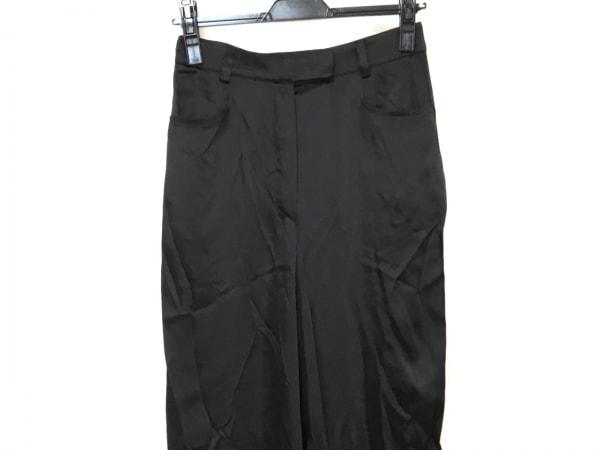 GIORGIOARMANI(ジョルジオアルマーニ) パンツ サイズ6 M レディース 黒