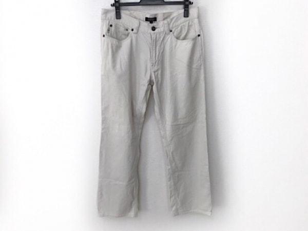 バーバリーブラックレーベル パンツ サイズ79 メンズ アイボリー