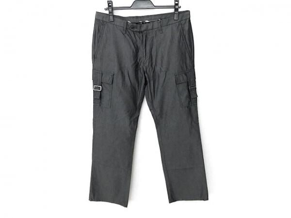 バーバリーブラックレーベル パンツ サイズ79 メンズ新品同様  グレー×ダークグレー