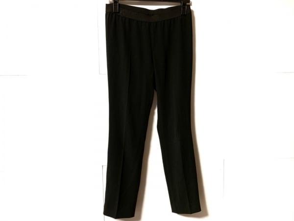 ダイアグラム パンツ サイズ36 S レディース 黒 ウエストゴム