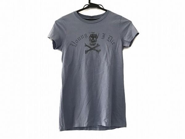 ラルフローレンラグビー 半袖Tシャツ サイズM レディース美品  グレー