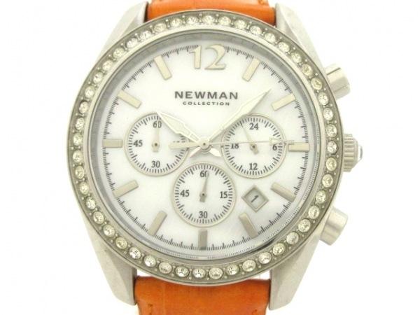 NEWMAN(ニューマン) 腕時計 - メンズ シェルホワイト