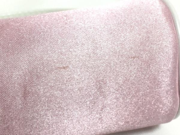 Dior Beauty(ディオールビューティー) 小物入れ美品  ピンク×白 ナイロン