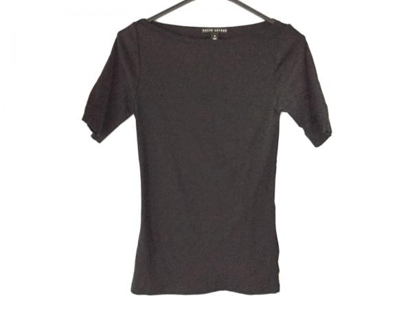 RalphLauren(ラルフローレン) 半袖カットソー サイズM レディース美品  黒