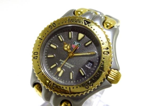 TAG Heuer(タグホイヤー) 腕時計 プロフェッショナル200 S95.215 レディース 黒