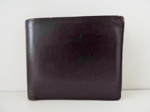 COCOMEISTER(ココマイスター) 2つ折り財布 黒 レザー