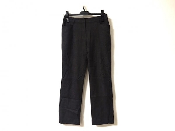 TRU TRUSSARDI(トゥルートラサルディ) パンツ サイズ36 S レディース ダークブラウン
