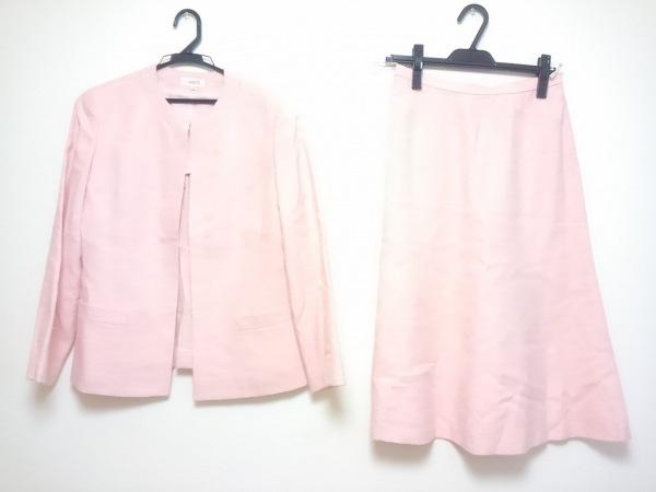 LANCETTI(ランチェッティ) スカートスーツ サイズ42 L レディース ピンク