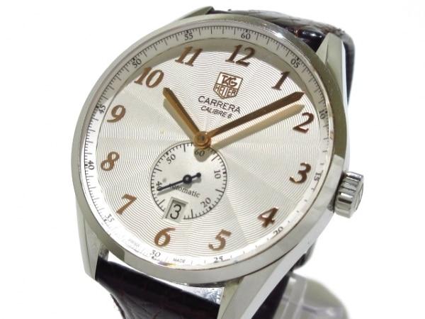 finest selection 6b571 c2c0f タグホイヤー 腕時計 カレラ ヘリテージ WAS2112 メンズ 裏スケ ...
