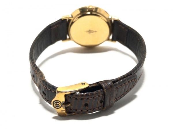 buy online 3c934 77ec2 GUCCI(グッチ) 腕時計 3000L レディース 革ベルト ゴールド
