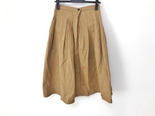 グランマママドーター ロングスカート サイズ0 XS レディース美品  ベージュ