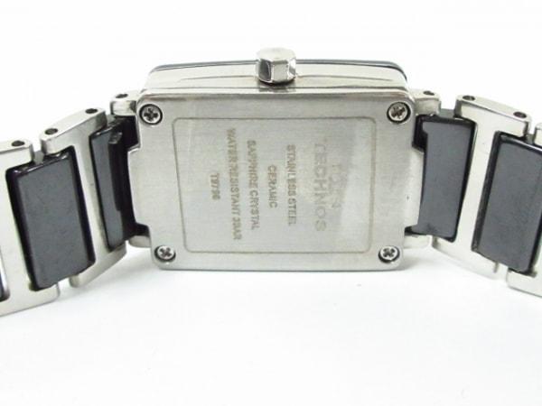 TECHNOS(テクノス) 腕時計美品  - T9796 レディース 黒