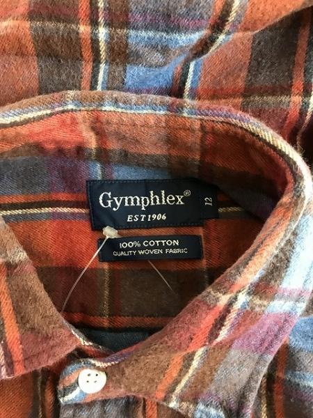 Gymphlex(ジムフレックス) ワンピース サイズ12 L レディース美品  オレンジ×マルチ