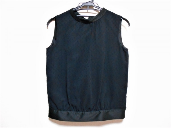 REPLETE(リプリート) ノースリーブカットソー サイズ9 M レディース美品  黒