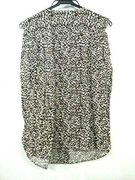 ルイヴィトン ノースリーブシャツブラウス サイズ38 M レディース 豹柄