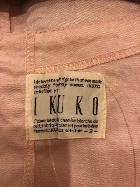 IKUKO(イクコ) ワンピース サイズ2 M レディース美品  ピンク リボン