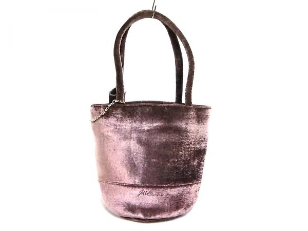 JILL STUART(ジルスチュアート) トートバッグ美品  パープルピンク 化学繊維