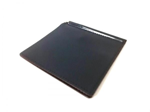 GANZO(ガンゾ) マネークリップ美品  黒 レザー
