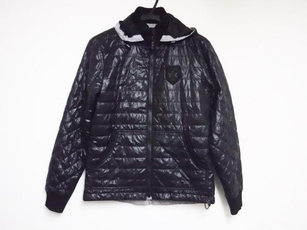 ニジュウサンク スポーツ ダウンジャケット サイズ1 S レディース美品  黒